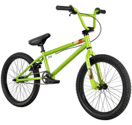 closeout bmx green bike