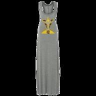 giraffe maxi dress