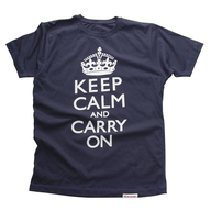 keep calm and carry on mens t shirt