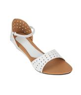 sindhi white sandals