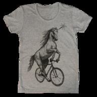 unicorn womens tee