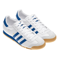 adidas mens sneakers white blue