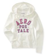 aeropostale white hoodie