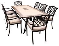 aluminium patio table