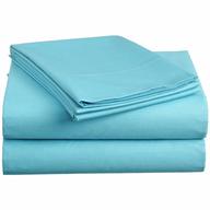 overstock aqua blue sheets