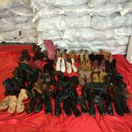 assorted winter footwear