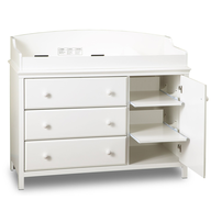 baby furniture white changing table