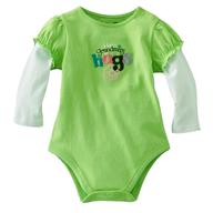 baby neon green shirt closeouts