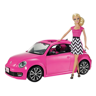 liquidation barbie with pink car