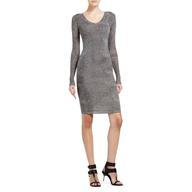 bcbg grey dress
