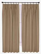 discount beige drapes