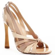 beige wedding heel