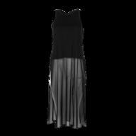 overstock black dress maxi