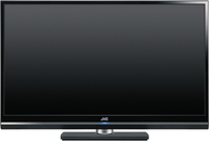 black jvc tv