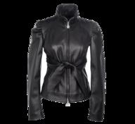 liquidation black leather jacket