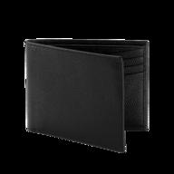 liquidation black leather wallet