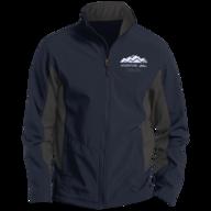blue adventure hike jacket