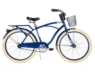 blue beige girls bike