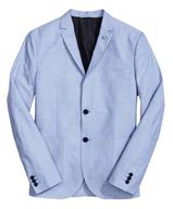 overstock blue mens blazer