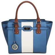 blue versace italia handbag deals