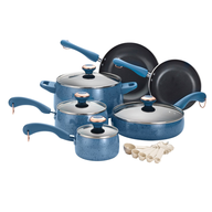 blueberry porcelain cookware set