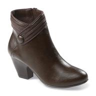 brown boot heel