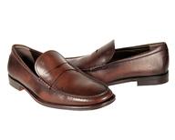 salvage brown dressy shoes men