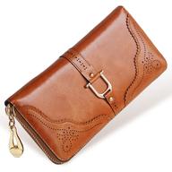 brown female wallet