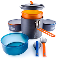 camp fire cook set