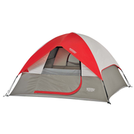 camp red tent