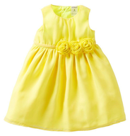 carters yellow dress