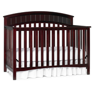 overstock cherry wood crib