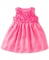 child pink dress