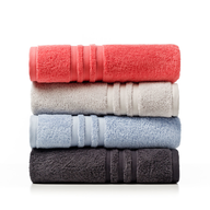 colorful stack towels