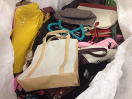 credential handbags
