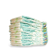 diapers pile