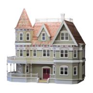 closeout doll house toy