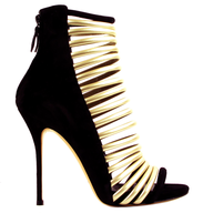 dsw black gold heel suppliers