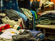 liquidation folded used clothing
