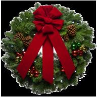 fresh forest wreath
