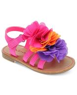girls frill sandals