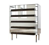 glass dresser