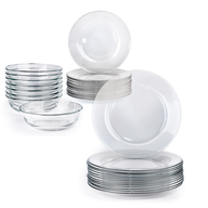 discount glass plates