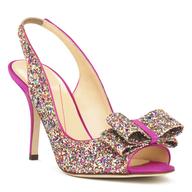 discount glitter heel