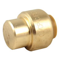 gold cap pipe fitting