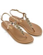 discount gold sandels