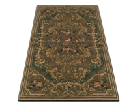 green brown rug pallets