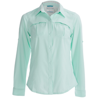 green collared shirt