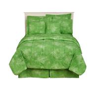 green comforter