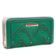 green nicole lee wallet